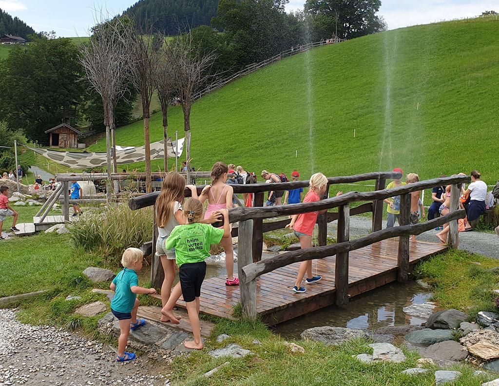 Hexenwasser blotevoetenpad Oostenrijk